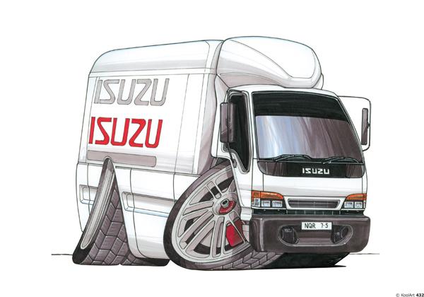 Isuzu NQR 75 Blanc