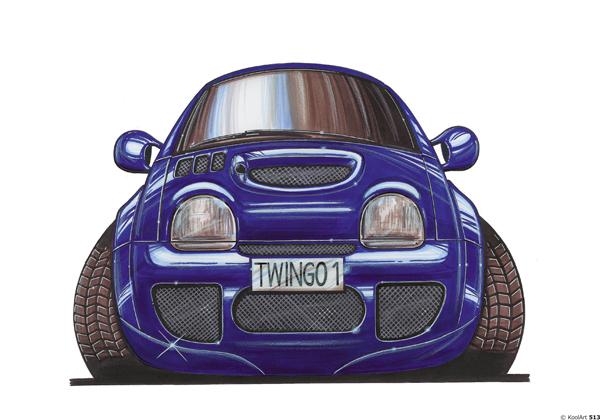 Renault Twingo Bleue