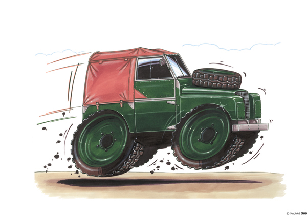 Land Rover Series Army