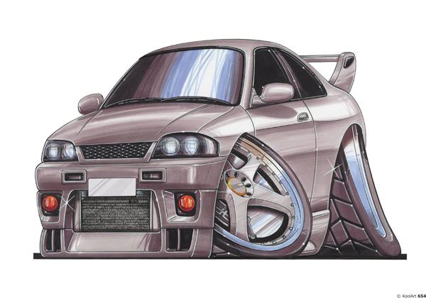 Nissan Skyline GTR Grise