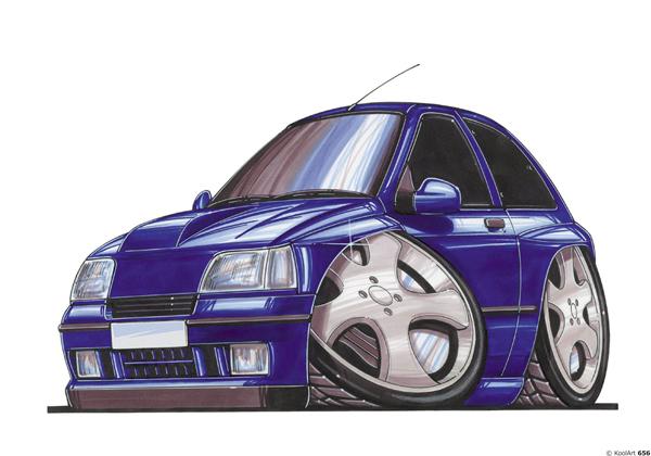 Renault Clio Bleue