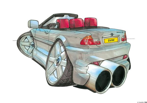 BMW Serie 3 Cabriolet Grise