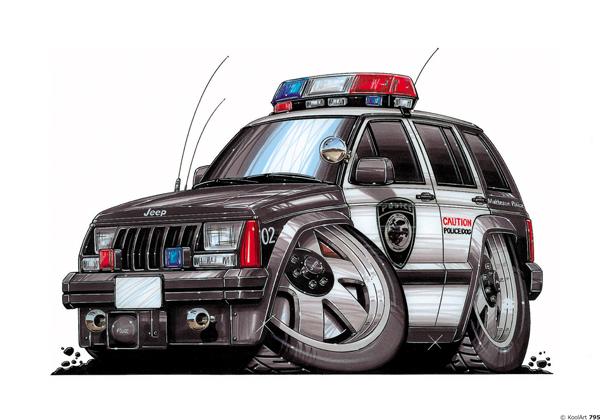 Jeep Cherokee 4X4 Police