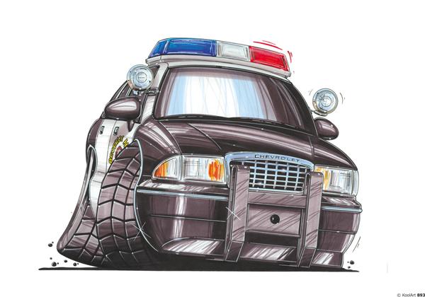 Chevrolet Police US