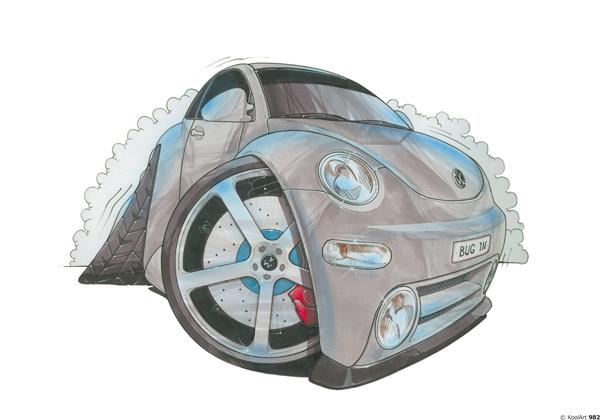 Volkswagen Beetle Grise