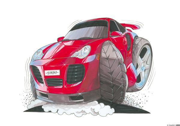 Porsche 911 Turbo Rouge