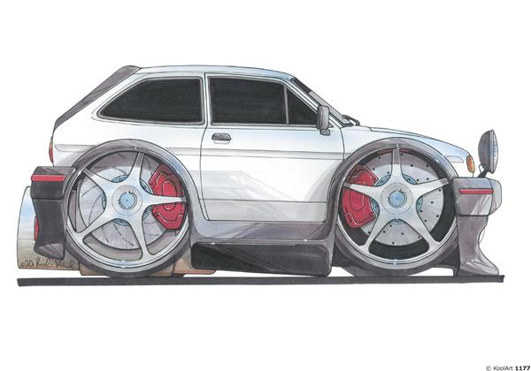 Ford Fiesta XR2 Grise
