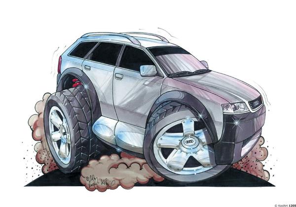 Audi Allroad Grise