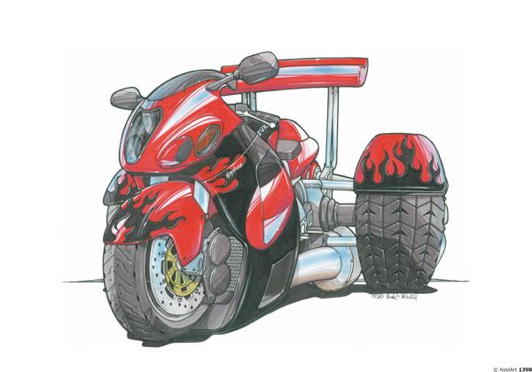 Trike Suzuki GSX 1300