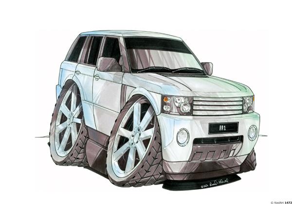 Land Rover Range 4X4 Gris