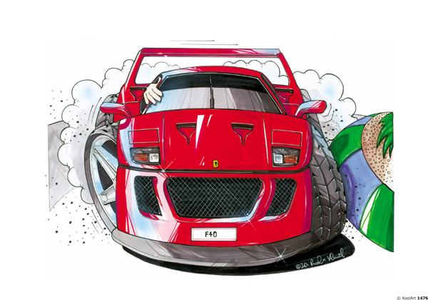 Ferrari F40 Rouge