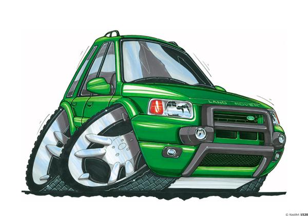 Land Rover Freelander Vert
