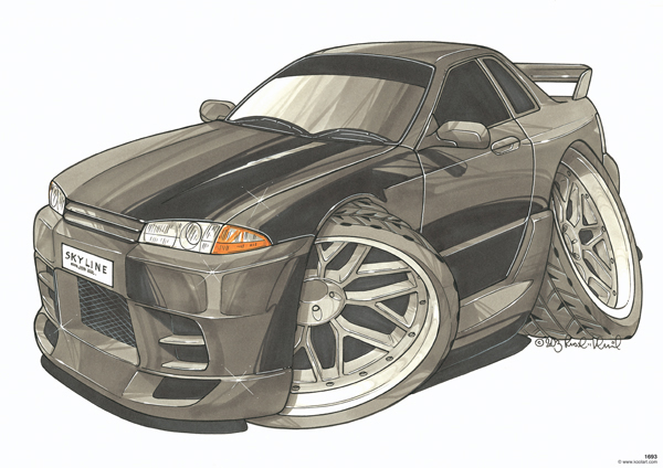 Nissan Skyline R32 Noire