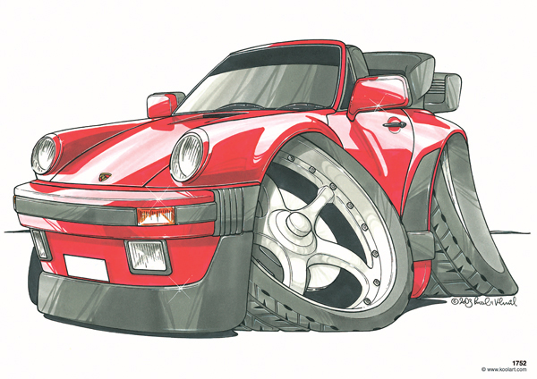 Porsche 911 Cabriolet Rouge