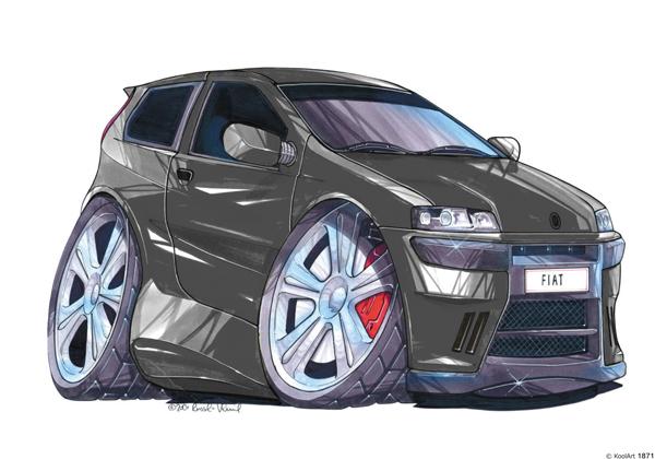 Fiat Punto Sport Noire