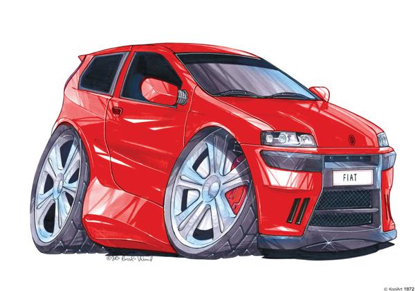 Fiat Punto Sport Rouge
