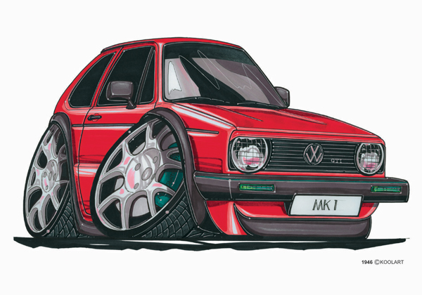 Volkswagen Golf GTI Grise