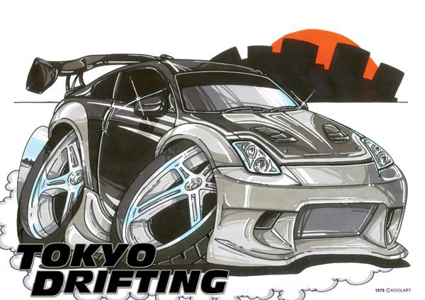 Nissan 350 Z Tokyo Drift