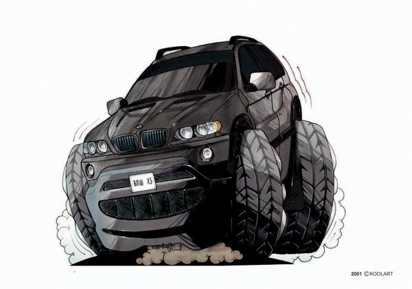 BMW 4X4 X5 Noir