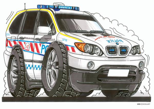 BMW 4X4 X5 Police