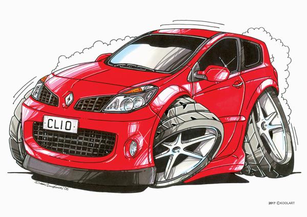 Renault Clio 2 Rouge