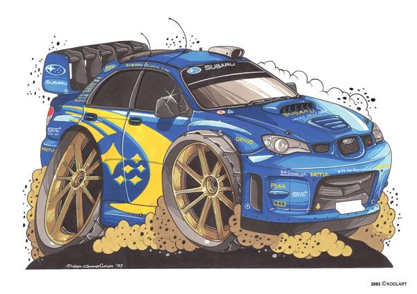 Subaru Impreza Rallye