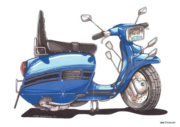 Scooter Lambretta LI