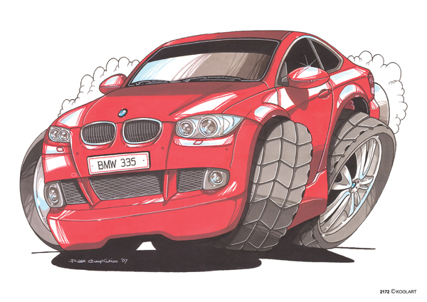BMW Serie 3 Rouge
