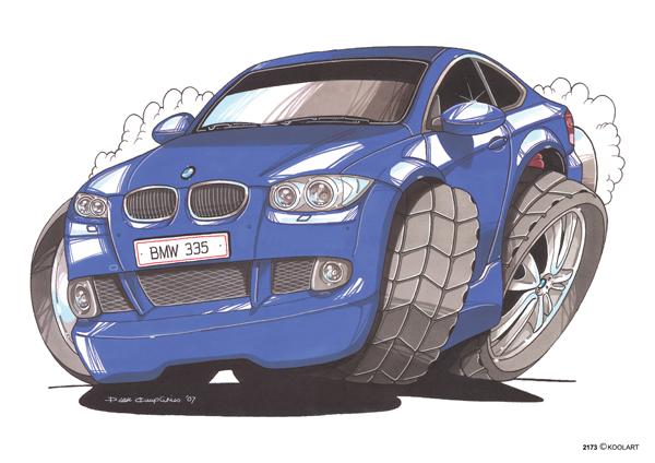 BMW Serie 3 Bleue