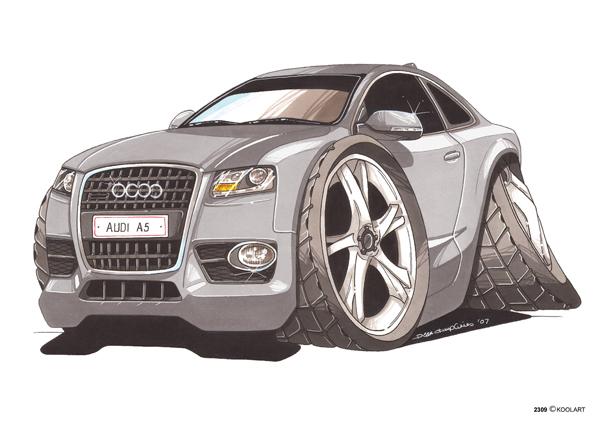 Audi A5 Grise