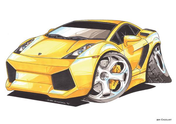 Lamborghini Gallardo Jaune