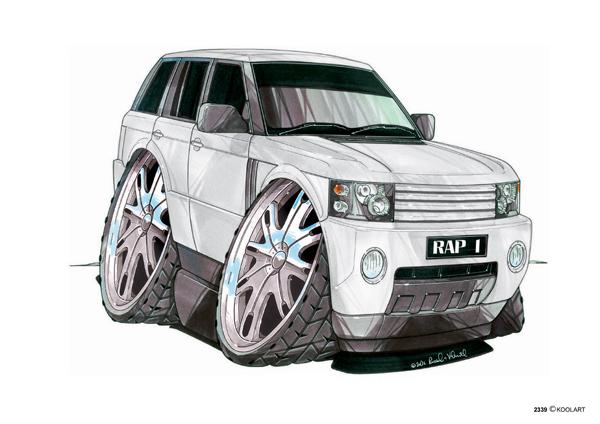 Range Rover Blanc