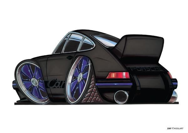 Porsche 911 Carrera Noire