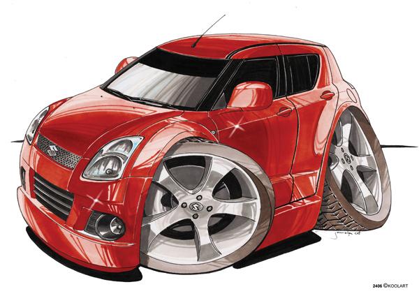Suzuki Swift Rouge
