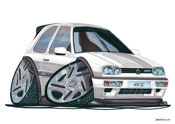 Volkswagen Golf VRG Blanche