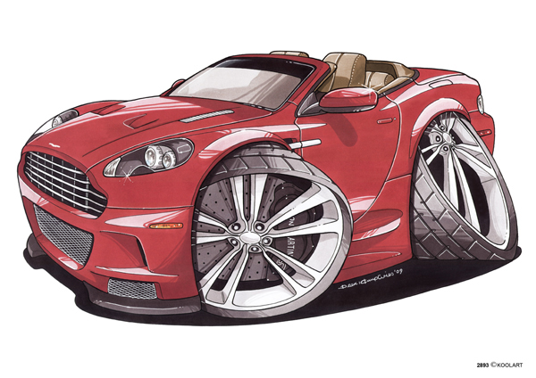 Aston Martin Volante Rouge