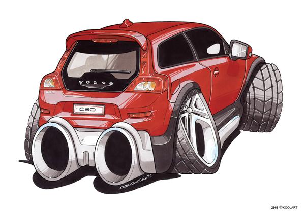 Volvo C30 Rouge