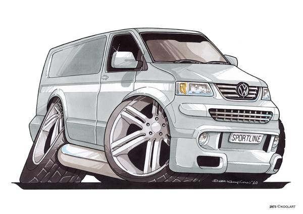 Volkswagen Transporter Gris