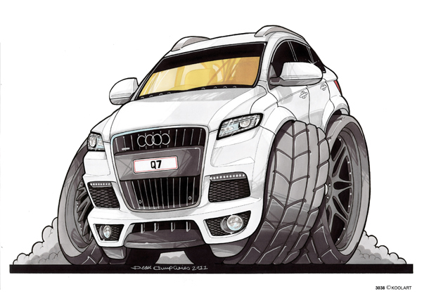 Audi Q7 4X4 Blanc