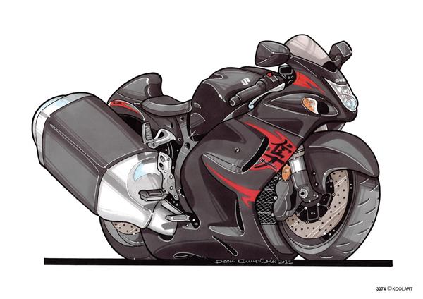 Suzuki Hayabusa Noire