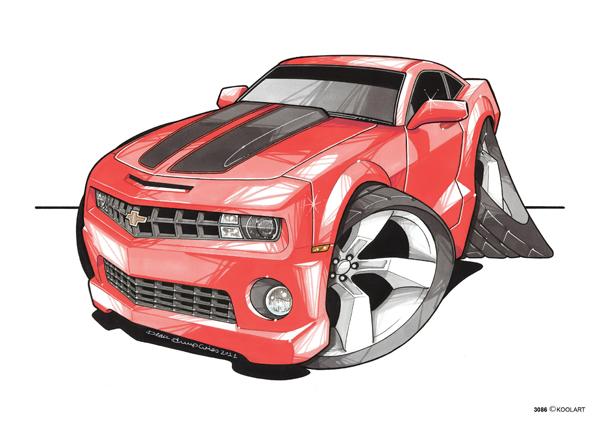 Chevrolet Camaro Rouge