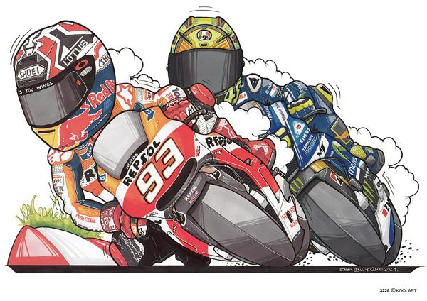 Marquez VS Rossi