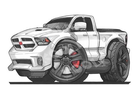 Dodge Ram Blanc