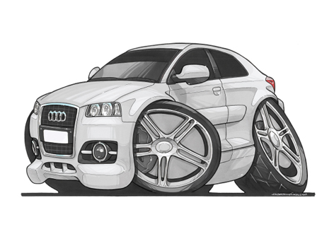 Audi A3 Blanche