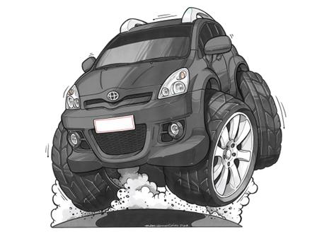Toyota Corolla Noire