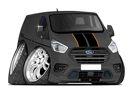 Ford Transit Noir