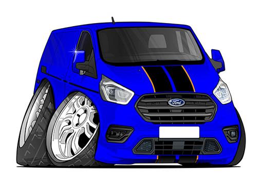 Ford Transit Bleu