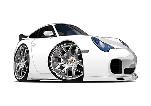 Porsche Carrera Blanche