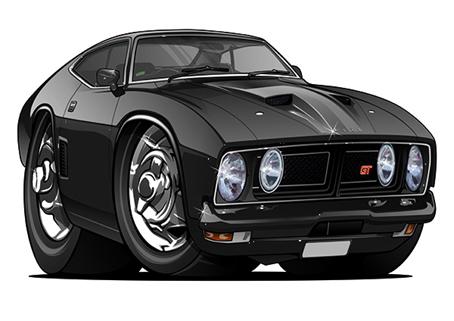 Chevrolet Falcon GT Noire