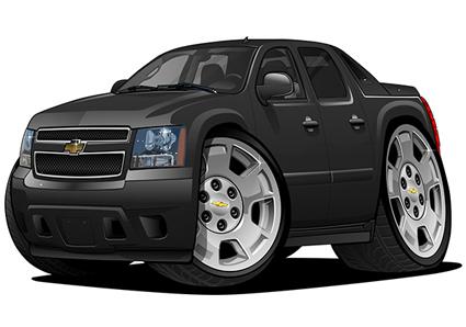 Chevrolet Avalanche Noire
